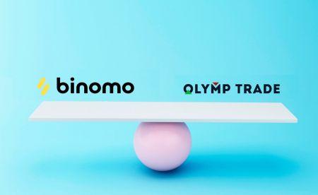 Comparison Binomo and Olymp Trade